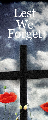 Lest We Forget Cross
